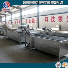 Vegetable And Fruit Washing Machine Industrial Equipment, Commercial Vegetable Washer For Sale