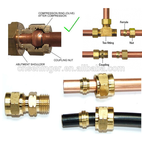 Brass swagelok compression union fitting buy