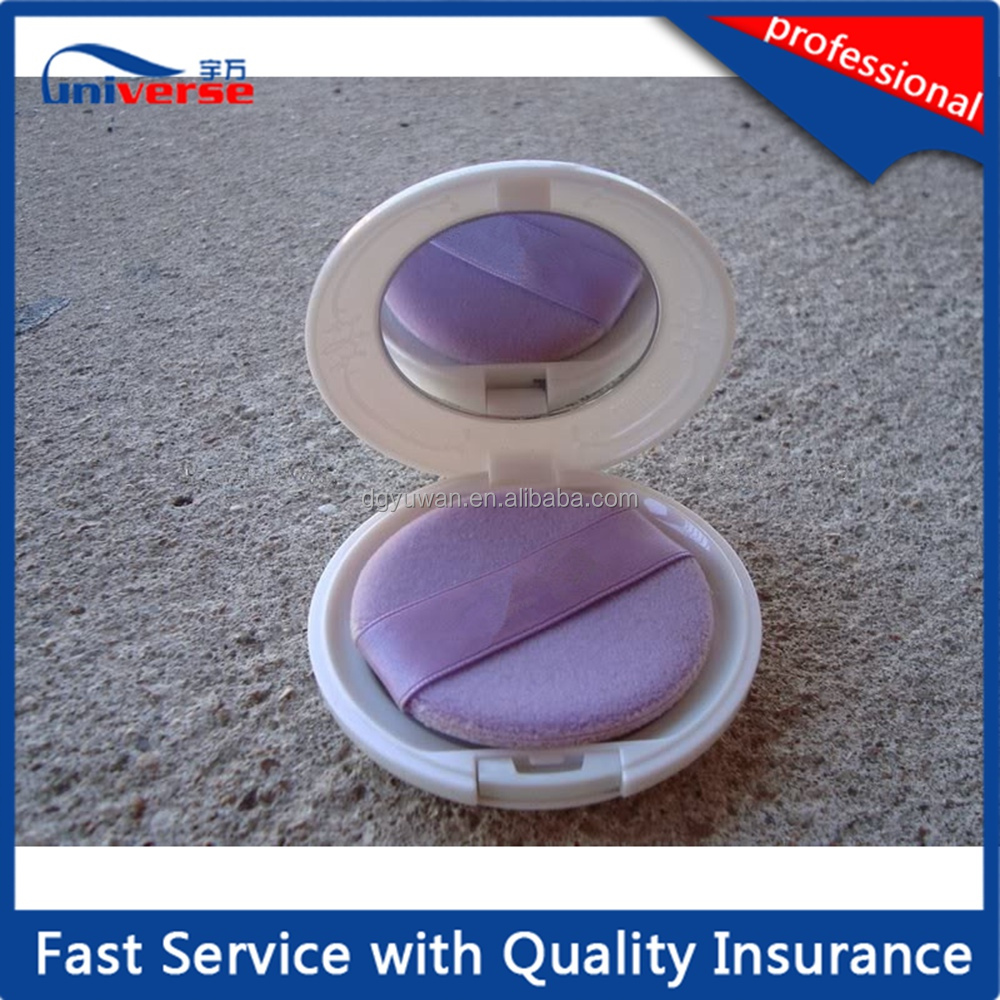 Custom double layer compact powder case used for make up