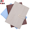 PU Genuine Leather Cover Custom Notebook