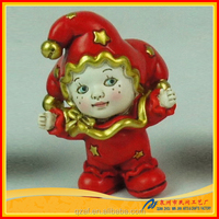 wholesale clown sex toy, resin clown girl toy