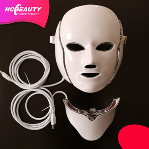 best selling LED facial mask/ led light therapy for face beauty
