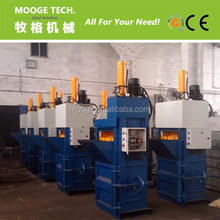 Plastic film press machine / Vertical pet plastic bottle baling machine