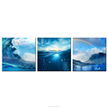 Nature Seascape Canvas Home Wall Decoration Wholesale Painting 3 Panel Canvas Printing Drop-ship Home Decor