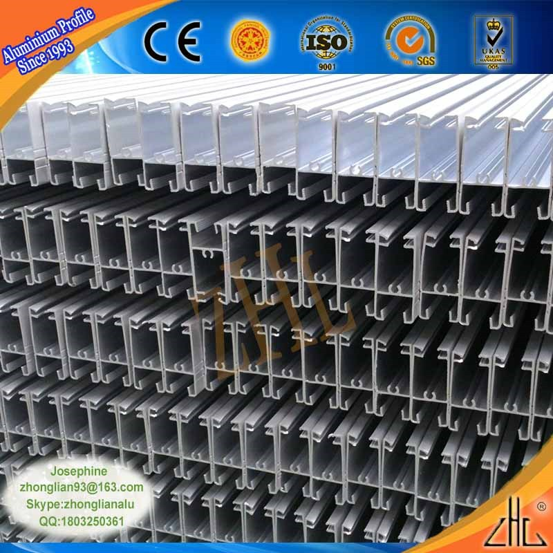Good! Lincence certificated aluminium extrusion manufacturer/ aluminum sliding windows sections/ extruded aluminium sections