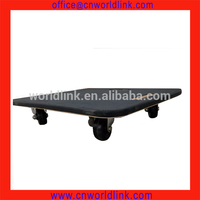 Strong Wheels Transporting Wood Platform Trolley