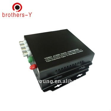 4V1D Video Audio Data Ethernet Optical Multiplexer
