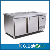Commercial salad bar undercounter refrigerator with CE Approve