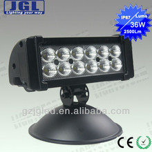 double row led light bars for trucks buggy,36w led light bars for police,2500lm led car working light bars