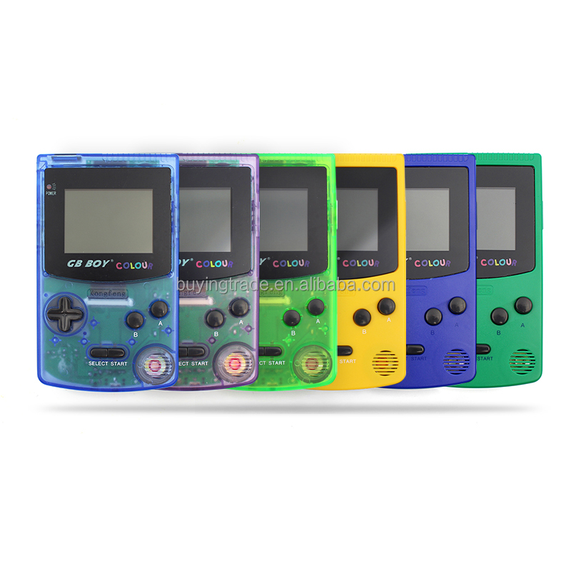 "Kong Feng GB Boy Classic Color Handheld Game Console 2.7"" with Backlit 66 Built-in Games"