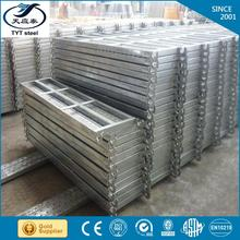 Hot selling PERFORATED METAL SUSPENDED CEILING galvanized scaffolding steel plank for wholesales