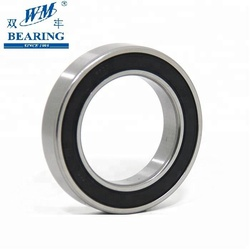 MLZ WM Brand 6011 2rs motorcycle deep groove ball bearing made in China
