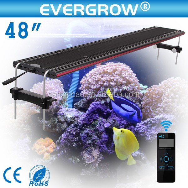 "2016 Evergrow IT Aqua Ocean 16""/24""/36""/48"" programmable led aquarium light with wifi controller"