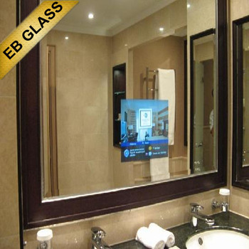 32inch wall mounted waterproof mirror tv samsung mirror tv for Miroir tv samsung
