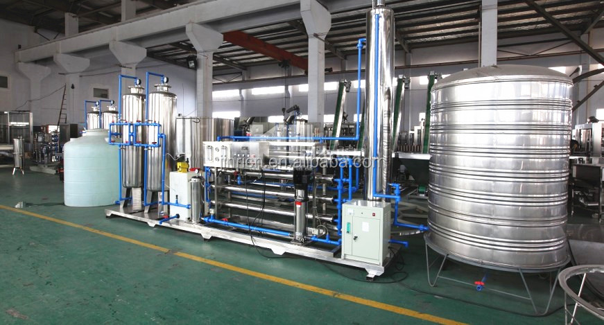 Purified water treatment equipment (RO system)