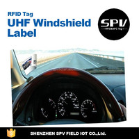 Long Distance UHF Windshield Sticker for Vehicle Management