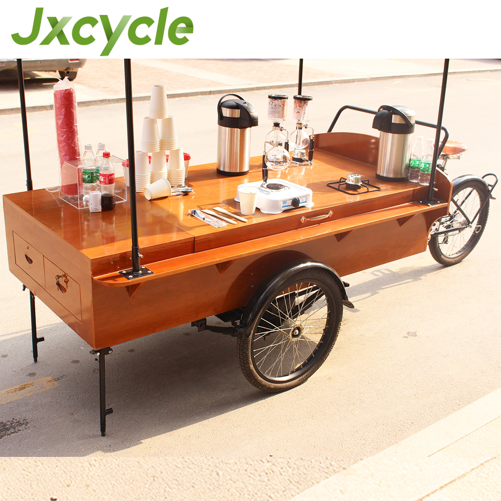 utility electric coffee tricycle