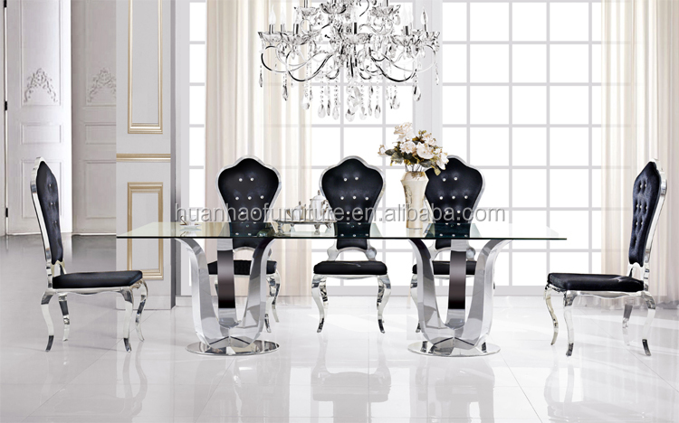 Furniture Dining Room Furniture Modern Dinning Table Set DH-1406