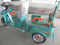 novel three wheel motorcycles with colorful body