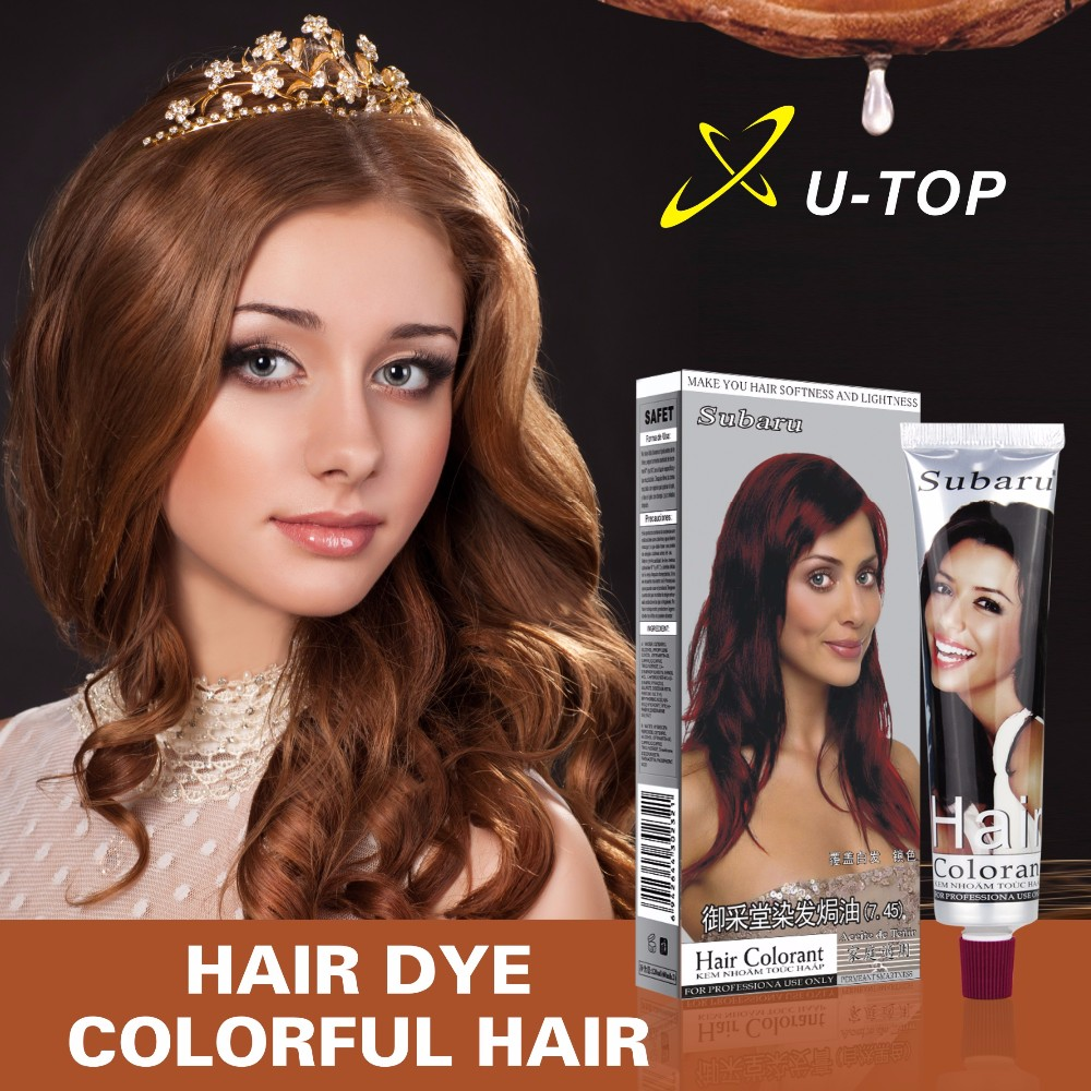 Natural hair dye hair factory 12 colors available color hair colorant