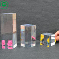 Clear Polished Acrylic Square Display Block Acrylic Block Display