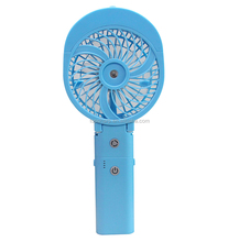 HF312 Portable handheld rechargeable water cooler mist spray fan powered by power bank