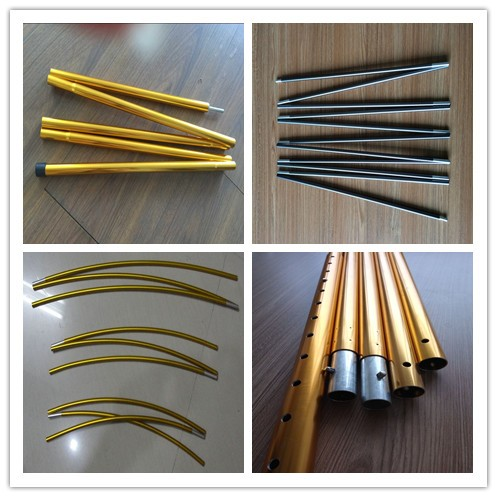 11mm high strength aluminium tent poles