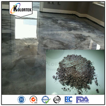 Multi color metallic pigment powder for epoxy 3d floor, metallic epoxy floor powder coating factory
