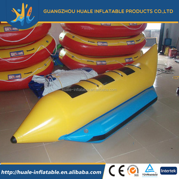 fashionable design new arrival Outdoor Water Entertainment inflatable banana boat commercial grade for sale