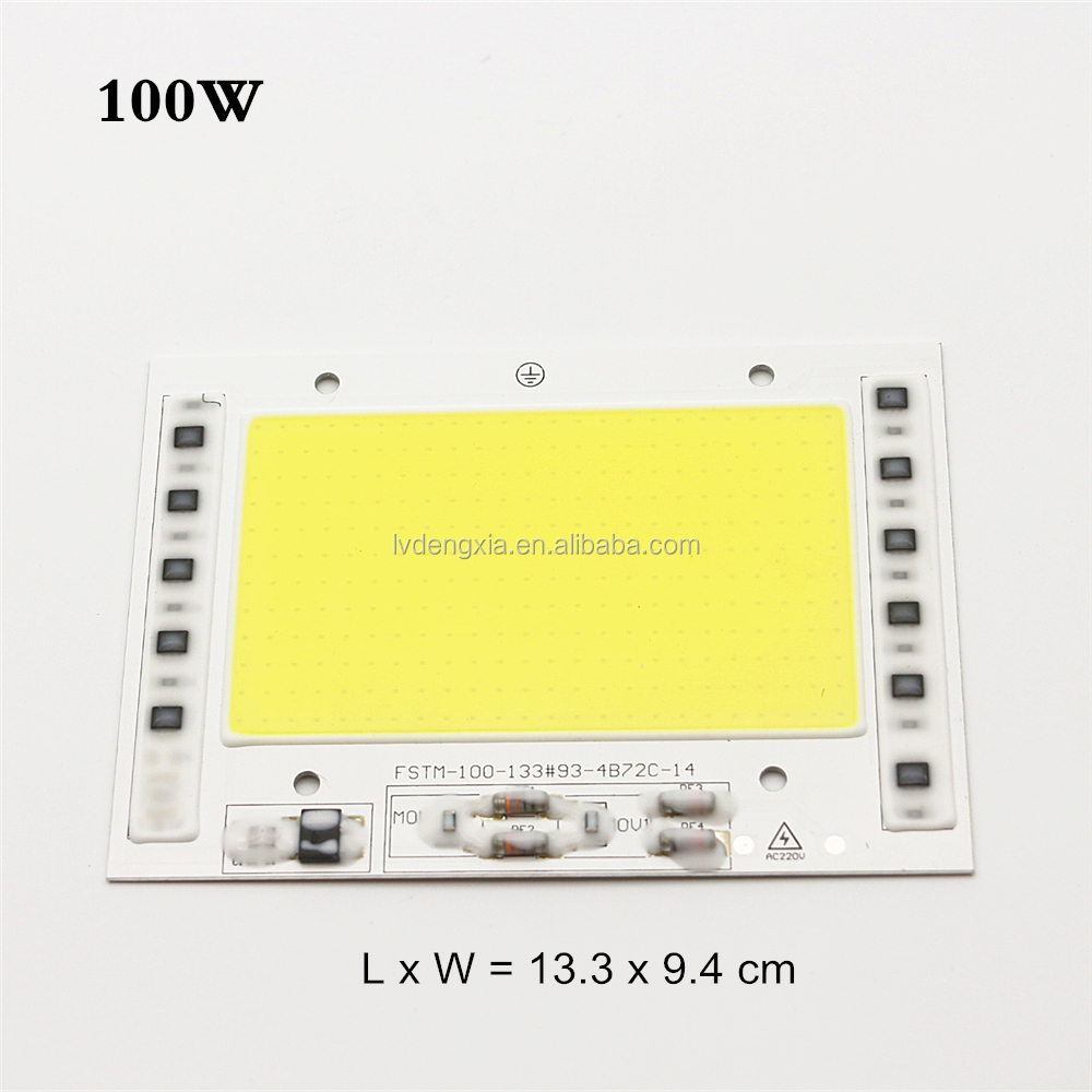 New Product AC 220V 110V Nature White Cool White Wram White 100W 150W 200W Led COB <strong>Chip</strong>