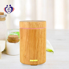 wooden ultrasonic essential oil air humidifier