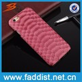 High Quality Genuine Leather Snake Pattern Mobile Phone Case For iPhone 6