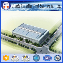 2016 high quality construction design light steel structure warehouse storage