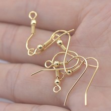 Wholesale Cheap High Polished Surgical Steel Gold Fill DIY Earring Fish Hook for Earrings