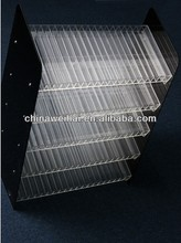 high quality acrylic cigarette display cabinet