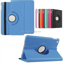 New product 360 degree rotating stand holder plate flip protective case for iPad mini 4
