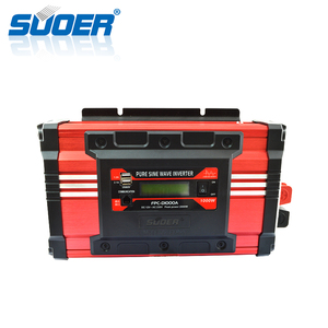 Suoer China Wholesale Intelligent 12V 1000W Pure Sine Wave Power Inverter