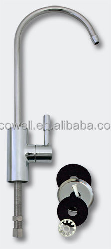 Universal chrome plated water filter faucet drinking water faucet