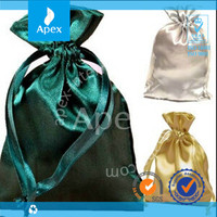 Luxury Satin Jewellery Drawstring Gift Bag Pouches