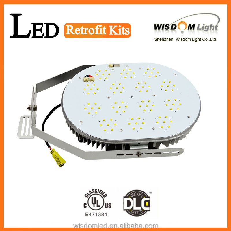 2015 2016 hot sale DLC UL led retrofit kit replace metal halide 1000w lamp 300w led retro fit