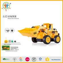 Wholesale 5 ch 1:32 loader rc tractor trailer trucks for sale with rechargeable battery
