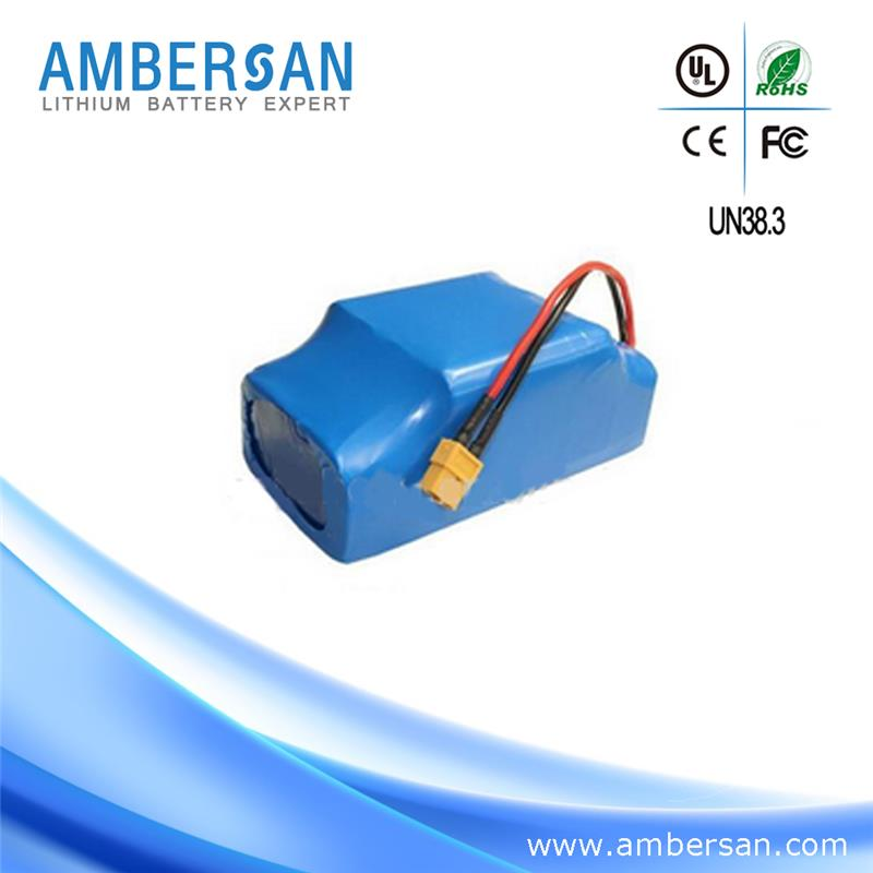 Customized size rechargeable 7.4v 1200mah li-ion battery pack
