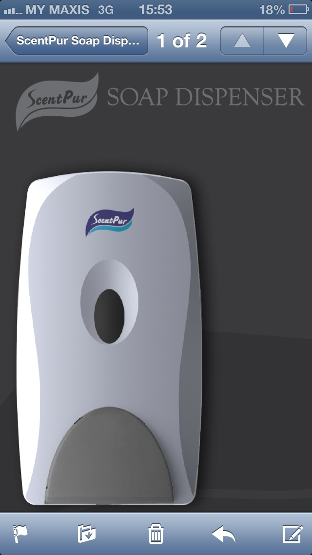 SP800 Soap Dispenser