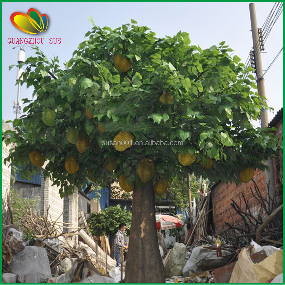 Interior decoration large chinese artificial jack fruit for Fruit trees for sale
