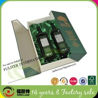 Custom Wholesale Cosmetic Cardboard Paper Olive Oil Packaging Box