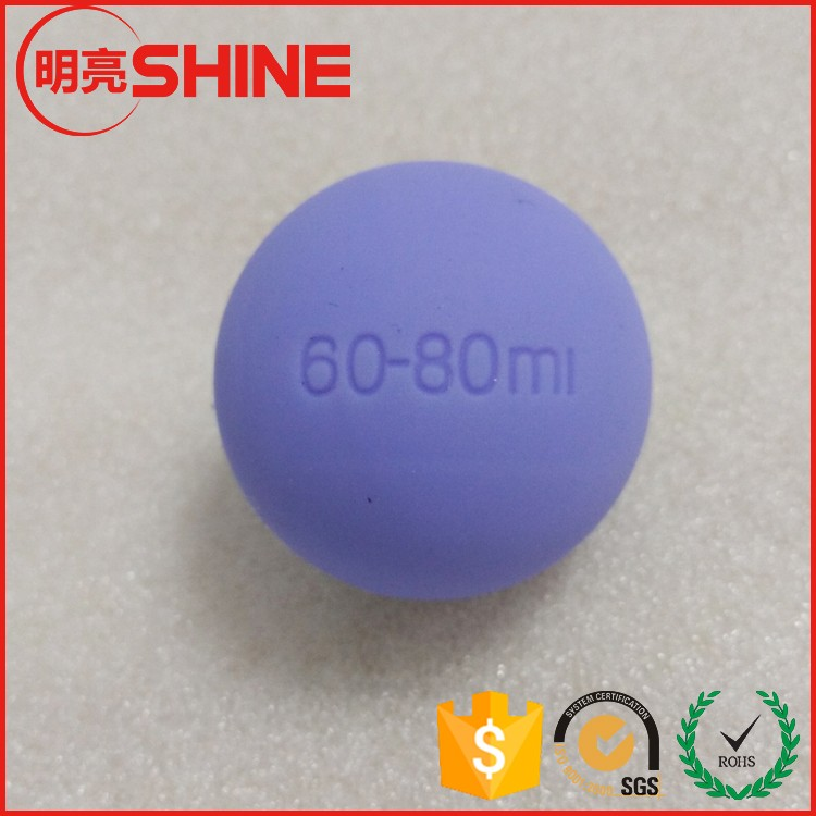 stainless steel ball carbon ball surround by rubber/pu/silicon 10mm 20mm 30mm 40mm