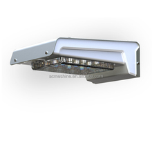 Aluminum Motion Sensor Led Battery Solar Wall Light Outdoor