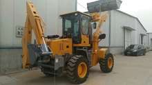 Small Garden Tractor Used Front End Loader Backhoe with Bucket Loader
