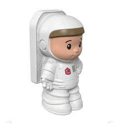 custom make plastic Little People Astronaut Baby Toy,make custom pvc astronaut figure baby toys