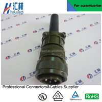 Military MS3106 16-9 cable mounted plug 4pin circular connector